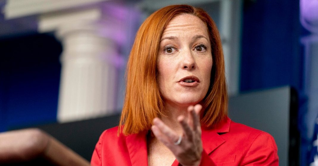 Psaki refutes the possibility of more stimulus checks, 'not free' she says
