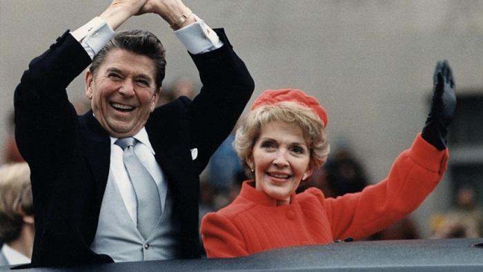 Ronald Reagan, then governor of California