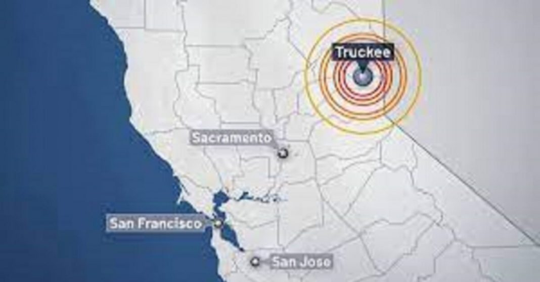 Truckee struck by 4.7 magnitude earthquake