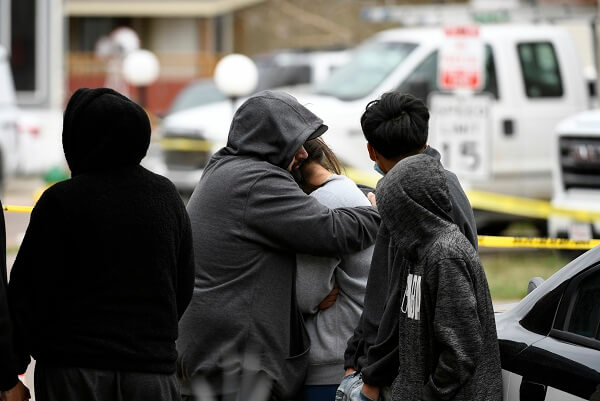 as a shooter opens gunfire; leaving 7 dead