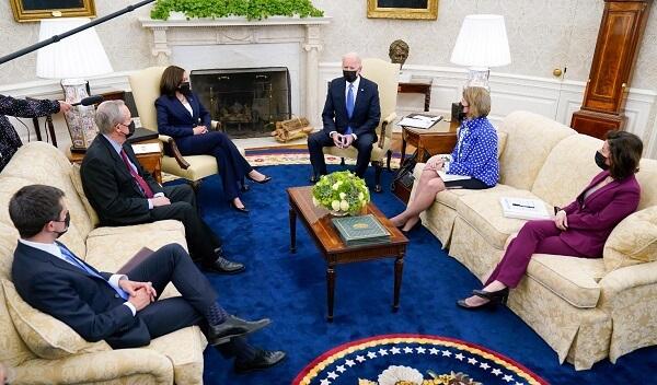 Biden administration to negotiate congressmen for bipartisan infrastructure 3