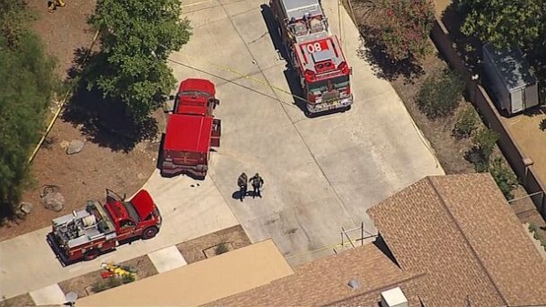 Firefighter shooting at Agua Dulce fire station leaves 1 dead and 1 critically injured