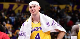 Lakers Alex Caruso arrested for marijuana possession charges at the airport