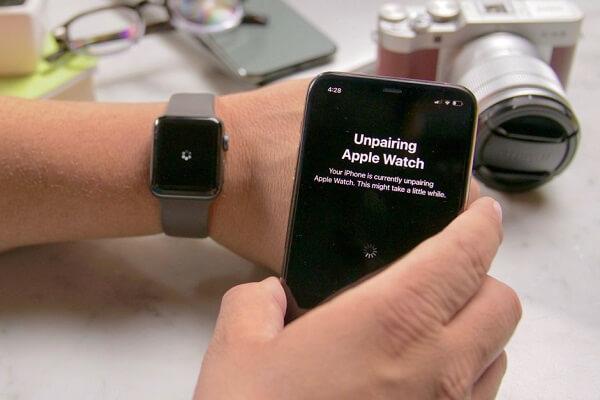 Unpairing the Watch