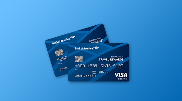bank of america travel rewards credit card 1