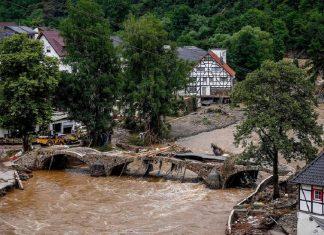 Deadly floods hit Western Europe
