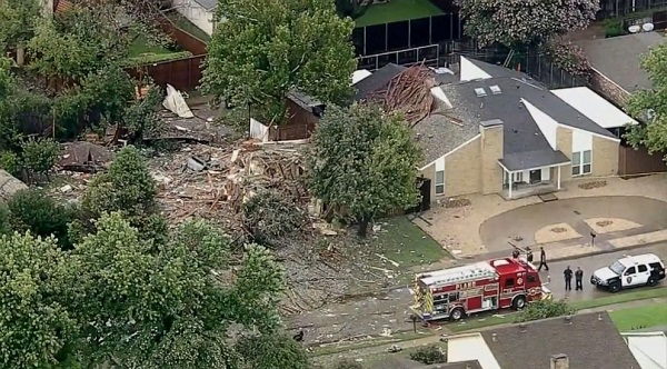 Explosion in a Plano House Hospitalizes Six People