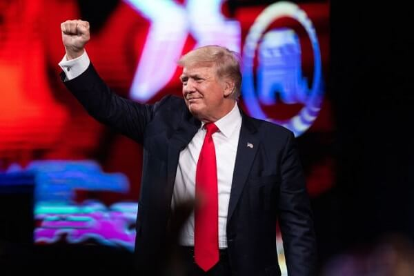 Former President Donald Trump won the CPAC straw poll as the attendees vow to vote for him again!