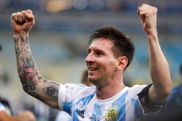 Lionel Messi leads Argentina to win a first major title after 28 years