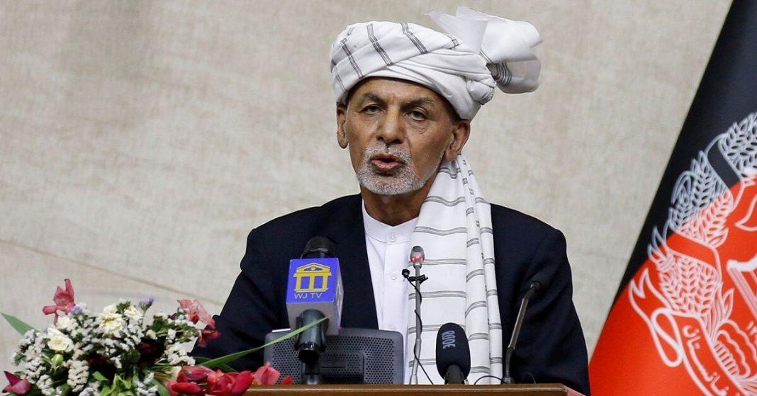 Afghan president and taliban