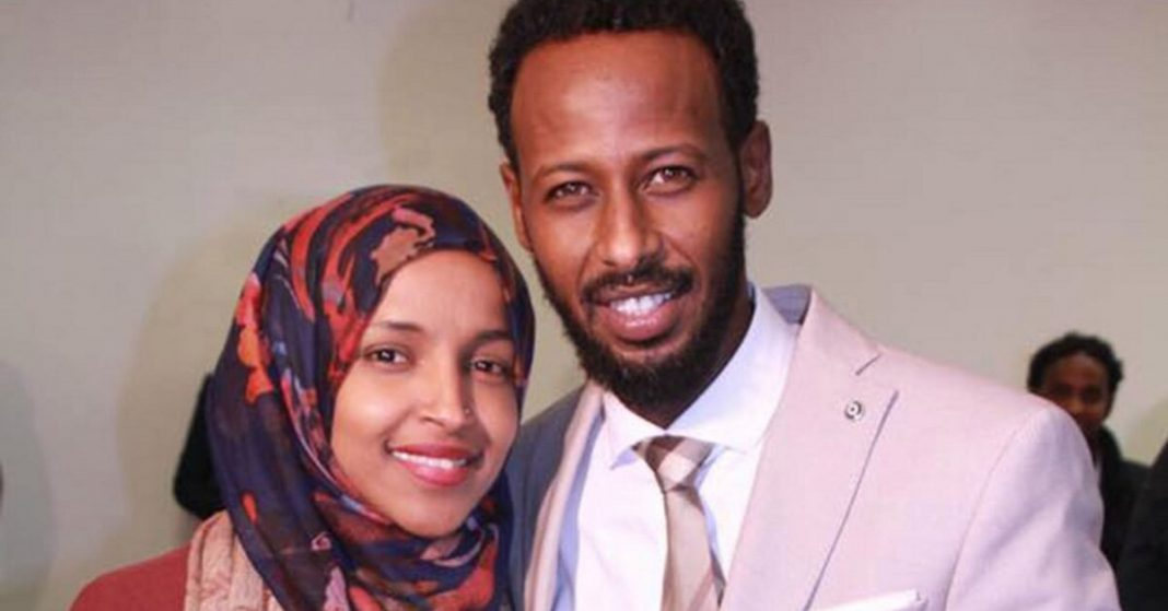 Are Ilhan Omer and her second husband actually brother and sister