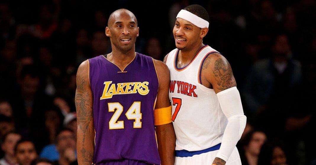 "Carmelo Anthony recalls epic ""war"" with Kobe Bryant"