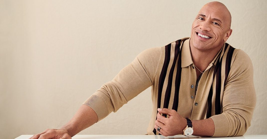 Dwayne Johnson awestruck by the viral picture