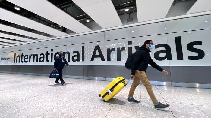 European travelers denied to come in US