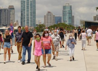 Florida hits rock bottom – the highest number of cases recorded since pandemic emergence