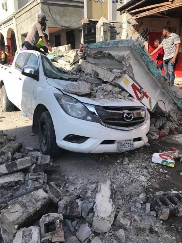 Haiti's Earthquake  disasters