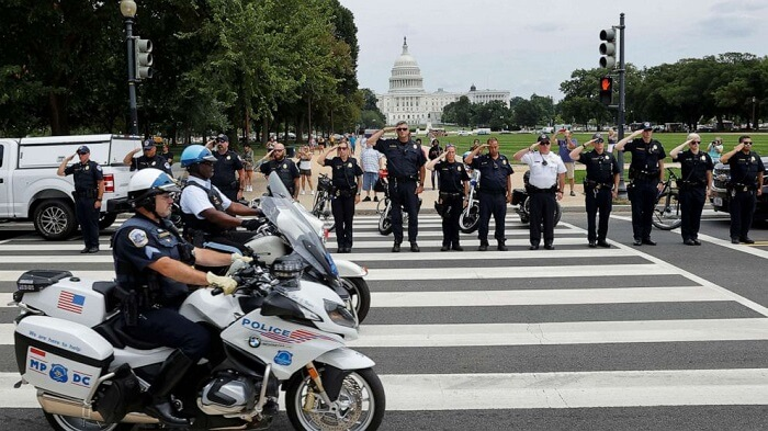Pentagon under attack & suspect killed while an officer dies in the line of duty