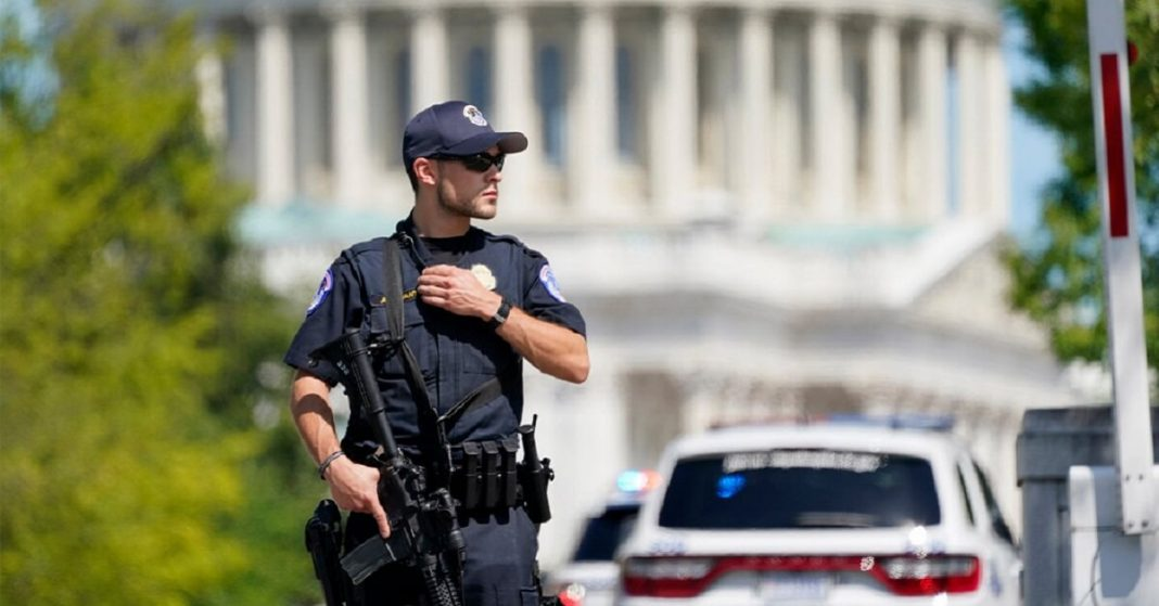 Police Responds to the Threat of Explosives Near the US Capitol