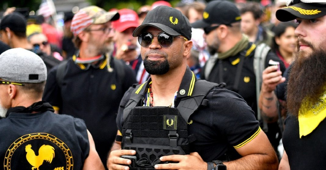 Proud Boys leader pleaded guilty and sentenced to 5 months in lockup