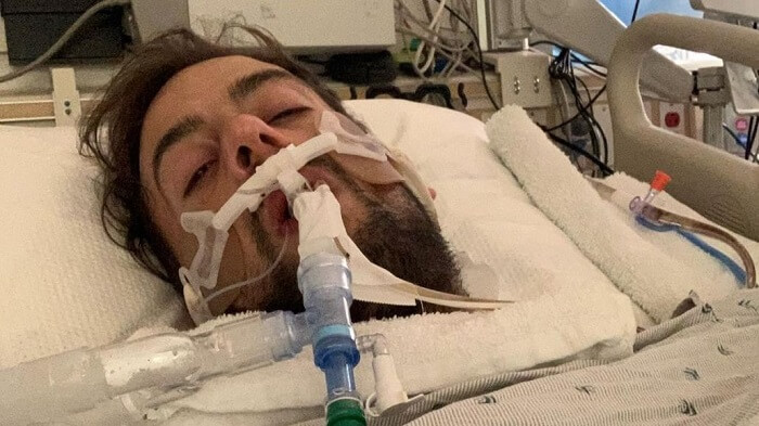 Ryan Fischer, asks for funds after getting shot
