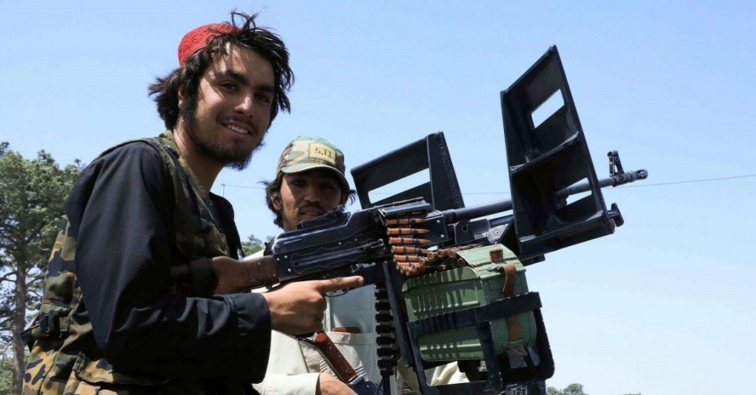 TALIBAN BACK IN AFGHANISTAN