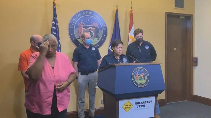 LaToya Cantrell stated in a press conference