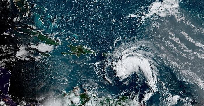 storm Fred heading toward Panhandle Florida