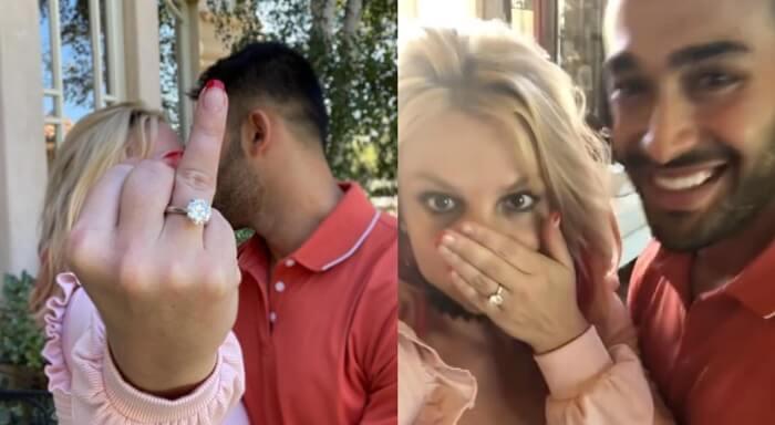 Britney Spears & Sam Asghari  got engaged