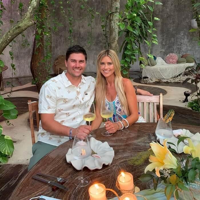 Christina Haack engaged with Joshua Hall