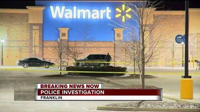 Heavy Police Petrol at Franklin Walmart – One man dead