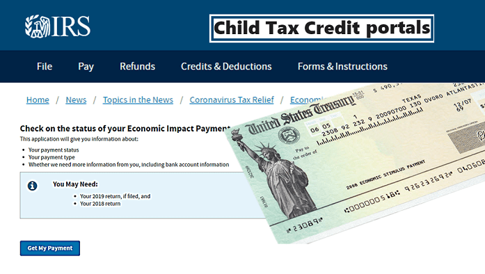 IRS Payments of Child Tax Credit
