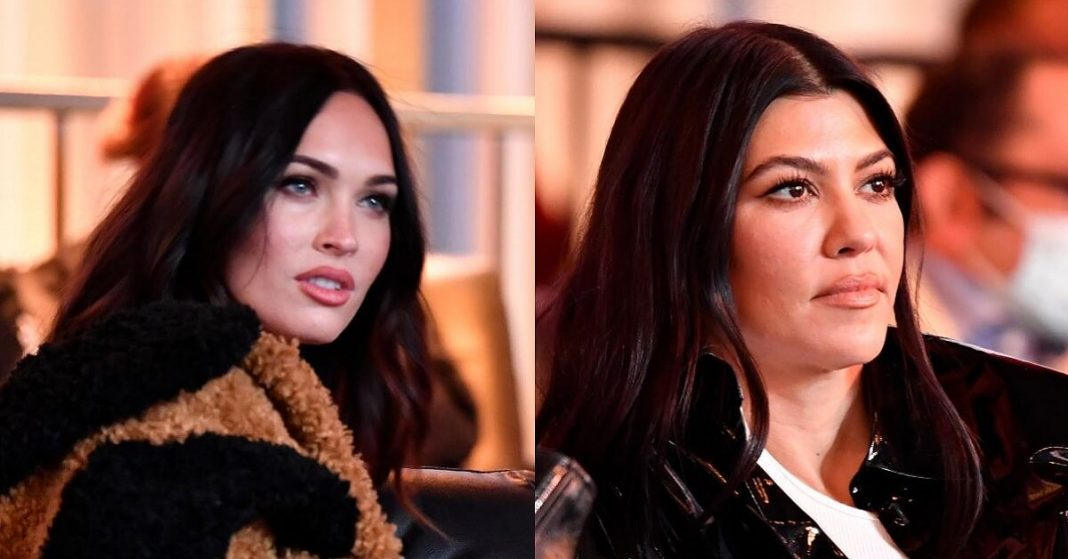 Kourtney Kardashian & Megan Fox
