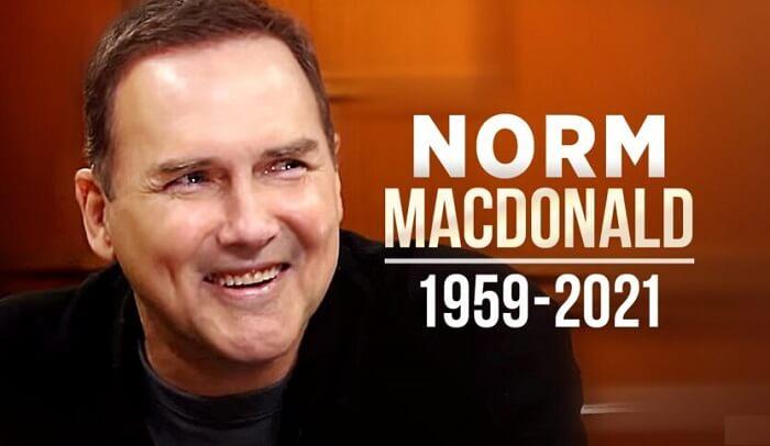 Norm Macdonald dies at 61