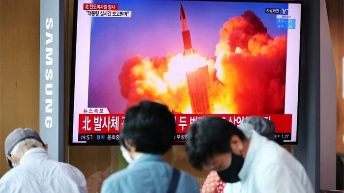 North and South Korea fired Ballistic missiles- Tension