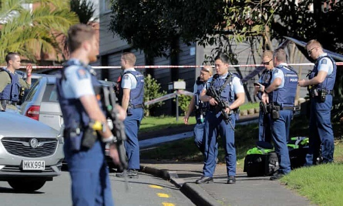 attacker who stabbed 6 people in the supermarket in Auckland