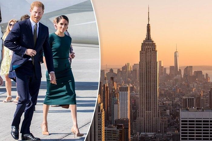 Prince Harry & Meghan Markle  in New York