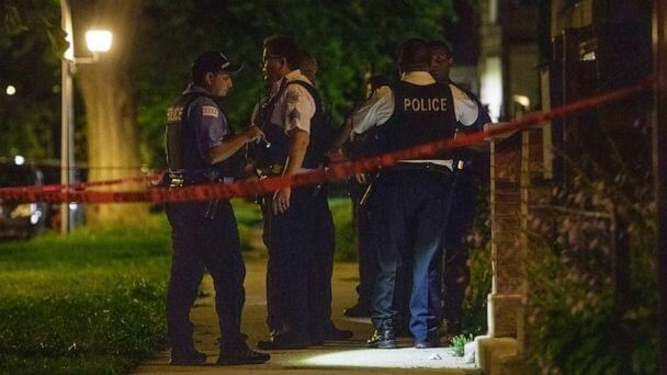 in Chicago as 43 people were shot resulting in 6 deaths