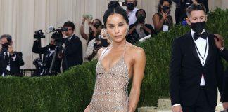 Zoe Kravtiz lashed out critics on her 'naked' Met Gala look!