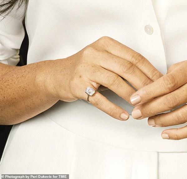 Meghan $62,000 pinky ring
