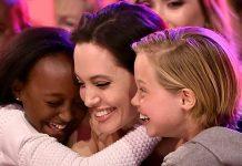 Angelina Jolie love her six kids