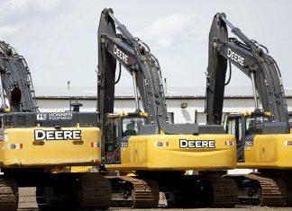 Deere & Co. works go on strike