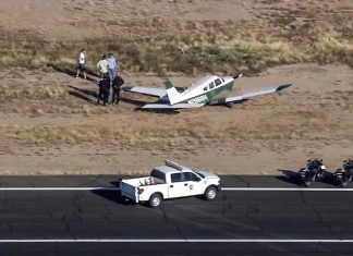 Helicopter & plane collided in midair