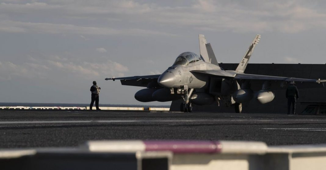 Navy jet crashed in Death Valley National on Monday