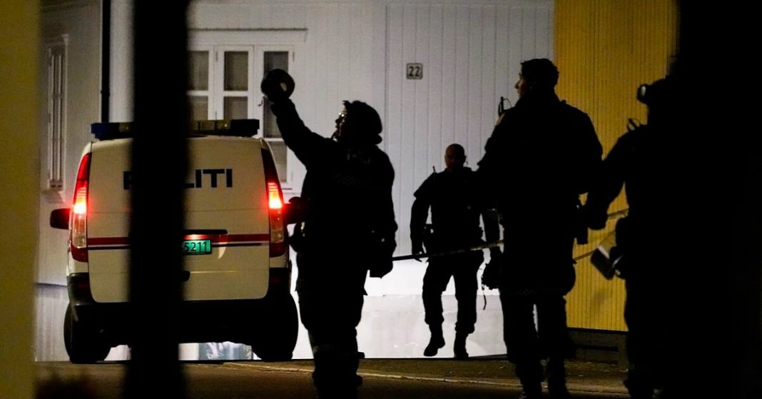 Norway - Two injured and five died in a shooting