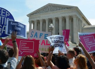 Texas abortion ban law in place